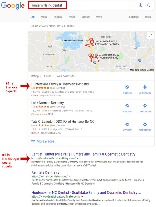 HFCD SEO Results